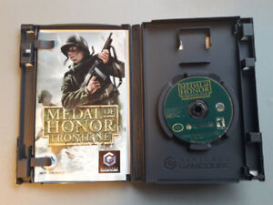 Medal of Honor Frontline Gamecube Game