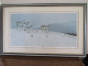 Framed, Signed & Numbered print by Johnny Filipchuk