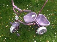 Kids Trike Bike with parent handle