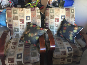 Pair or recliners