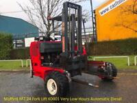 Moffett M7.24 Fork Lift K0001 Very Low Hours Automatic Diesel