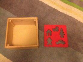 Wooden sorter toy