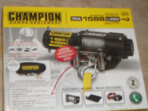 3500 LBS CHAMPION WINCH FOR SALE