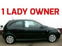 1 LADY OWNER 2006 VAUXHALL CORSA 1.2 SXi + LOW INSURANCE