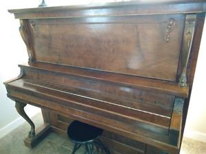 Antique Dominion Upright Piano