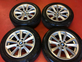 """F10 5 series 17"""" bmw Alloy wheels and legal tyres (also insignia)"""