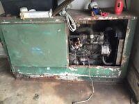 3 cylinder Perkins diesel welder