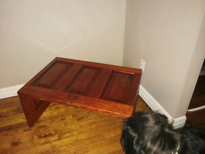 Up cycled Door Coffee table
