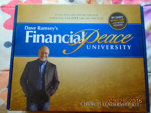 Financial Peace University (Dave Ramsey) Leadership kit