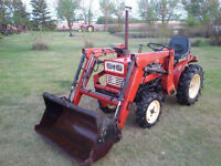 Yanmar 4wd Diesel Tractor with Loader