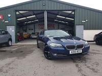2010 BMW 520 2.0TD SE DIESEL MANUAL BLUE SAT NAV SERVICE HISTORY PX WELCOME