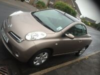 Nissan Micra Sport C+C Automatic 1.6 Very Low Mileage Gorgeous Colour Much Loved Car