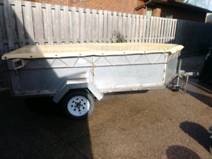 Stainless Steel Utility Trailer
