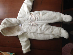 Girls snowsuit two offered
