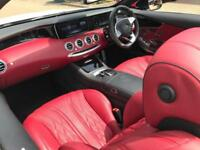 2017 17 reg Mercedes-Benz S63 AMG 5.5 ( 585ps ) Convertible + ENDLESS SPEC