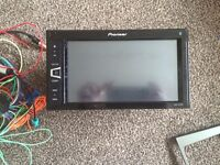 Pioneer double din car stereo. 6 months old. Only selling as new car has one built in.