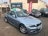 2010 59 BMW 320D 2.0 TD M SPORT 5 DOOR SALOON LCI FACELIFT FSH SAT NAV TOP SPEC