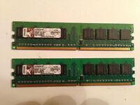 MÉMOIRES pour ORDINATEURS: DDR1, DDR2