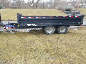 2013 load trail 14 ft dump trailer FINANCING AVAILABLE