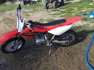 Honda xr80 dirt bike