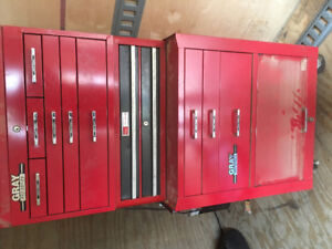 Grey Tool Cabinet