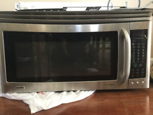 Kenmore Elite Over the Range Microwave