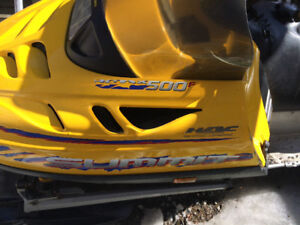 2001 Ski Doo Summit 500 fan