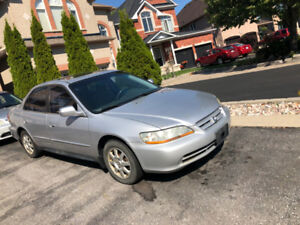 2002 Honda accord for sale as is $1,000. OBO