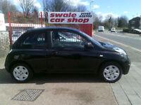 2010 60 Reg Nissan Micra1.5 dCI Visia 3 Door Black ECONOMICAL CAR CHEAP ROAD TAX