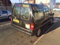 Fiat scudo taxi