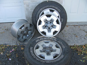 "MOVING/ESTATE SALE --15"" CHEVY RIMS"