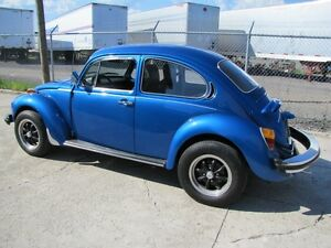 1975 Volkswagen Super Beetle with Sun Roof - Excellent Condition