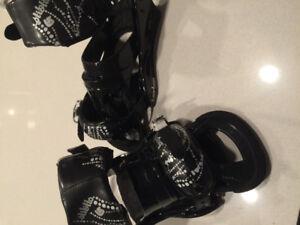Never Used Burton Stiletto Bindings Black