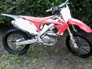 2012 Honda 450 CRF