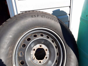 Truck winter rims and tires (4)