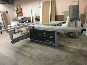 2017 - K 700 S FELDER 10' sliding table saw