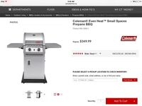 Almost new Coleman BBQ