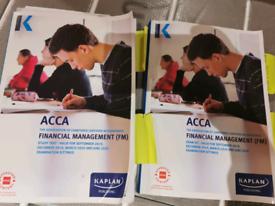 Acca Financial Management valid till June 2020
