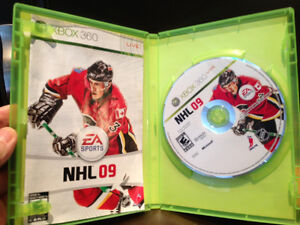 EA Sports NHL 09 XBox 360 Game In excellent condition Kitchener / Waterloo Kitchener Area image 3