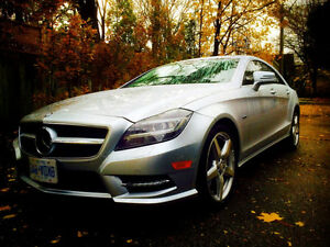 2012 Mercedes-Benz CLS-Class CLS 550 4Matic Sedan