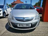 2012 Vauxhall Corsa 1.2 i 16v Exclusiv 5dr Hatchback Petrol Manual