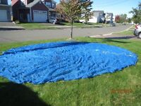 Leaf Cover for 21 ft. above ground pool