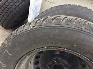 Hercules Avalanche Winter tires with rims- only used 1 season Kitchener / Waterloo Kitchener Area image 6