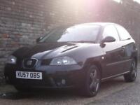 Seat Ibiza 1.4 16v Stylance 2007(57) 3 Door Hatchback