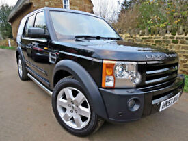 2007 LAND ROVER DISCOVERY 3 2.7TD V6 AUTO HSE 4X4 7 SEATS !! DVD'S