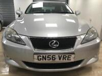 Lexus IS 220d 2.2TD SE DIESEL SAT NAV REVERSE CAM BLUETOOTH LEATHER WARRANTY FSH
