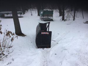Snow blade 3point for tracteur