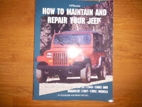 How To Maintain & Repair Your Jeep 1945-95 CJ5  CJ-7 Wrangler YJ