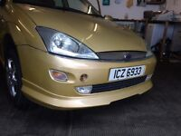 Ford Focus 2003 model body panels available, bumpers, wings, doors etc.