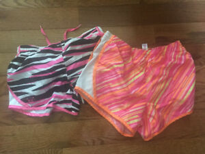 Two pairs of Justice Shorts